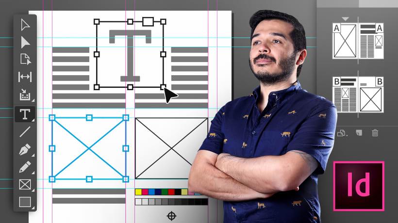 Domestika: 5 Cursos de Introducción a Adobe InDesign 75% de Descuento