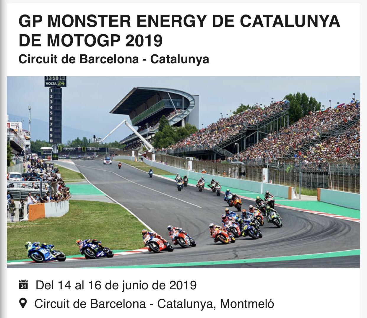 10% de descuento Entrada MotoGP Barcelona