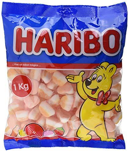 Haribo - Tricorazon de melocotón - 1 Kg