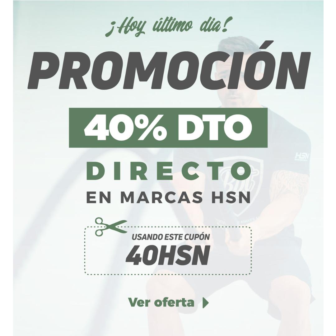 40% de descuento directo en marcas HSN