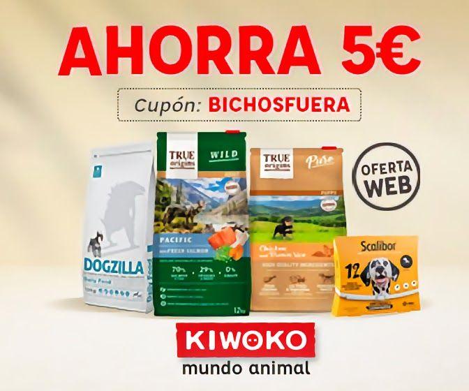 Descuento de 5€ en KIWOKO online