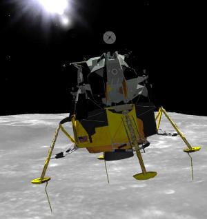 Simulador profesional del Módulo Lunar, gratuito
