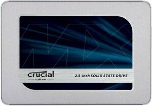 Crucial MX500- SSD 500Gb