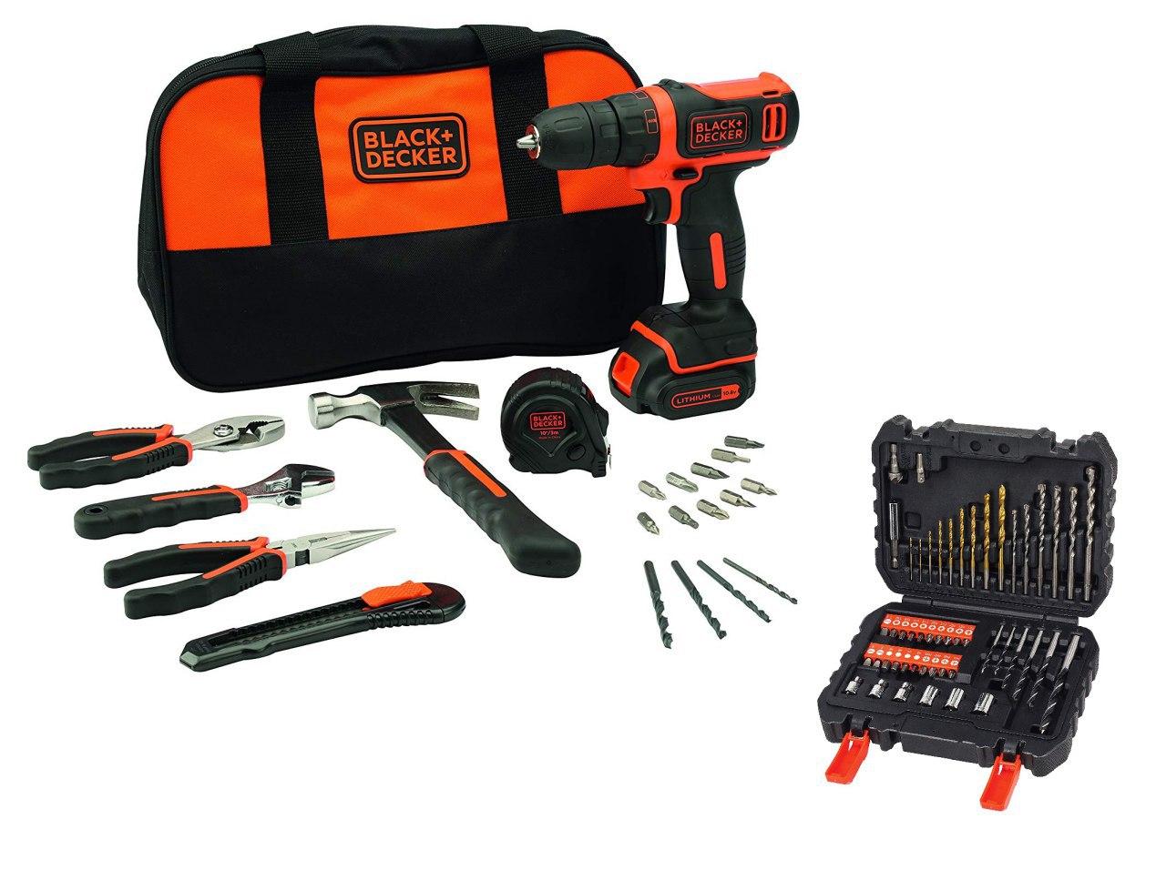 Set Black&Decker herramientas + accesorios solo 56€