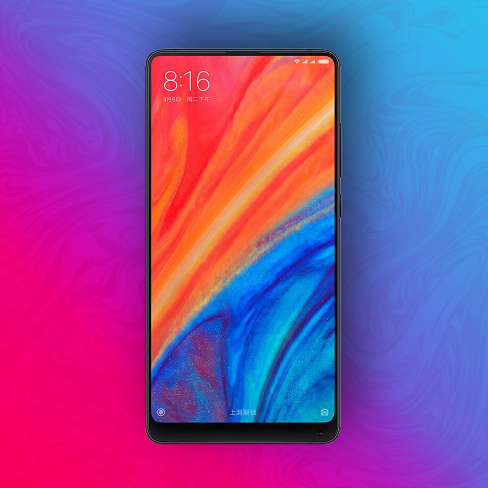 Xiaomi Mi Mix 2S 64/6GB - Snapdragon 845 desde España
