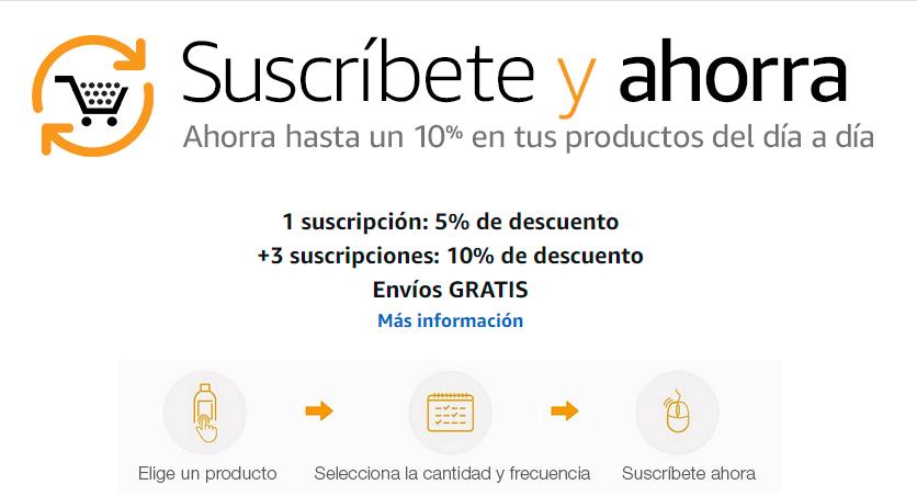 Amazon 40%+10%+5% en selección de productos