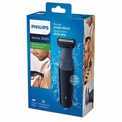 Philips Serie 3000 BG3010/15 - Afeitadora Corporal Apta para la Ducha