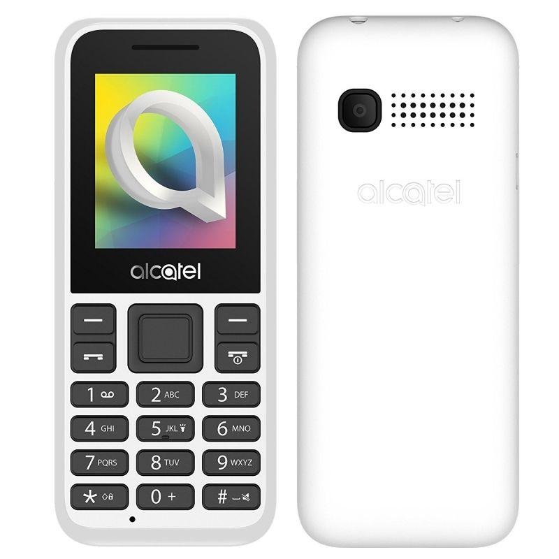 "Alcatel 1066D 1.8"" 2G 4MB Libre Blanco o Negro (Ultra Económico)"