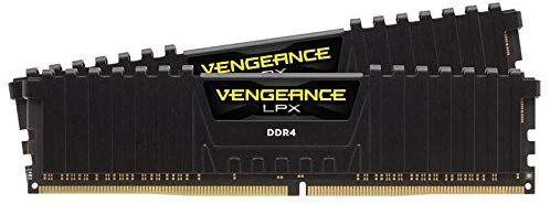 Corsair Vengeance LPX 32Gb (2* 16GB) 3200MHz C16 - Negro