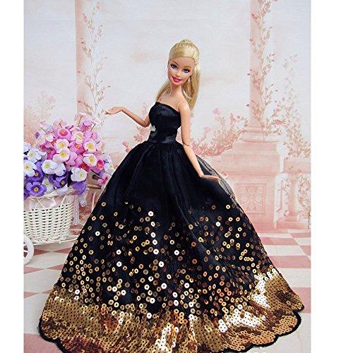 CHOLLOOO 50%!! Vestido Barbie hecho a mano con lentejuelas