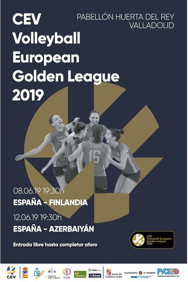 Entrada GRATUITA Volleyball European Golden League Valladolid