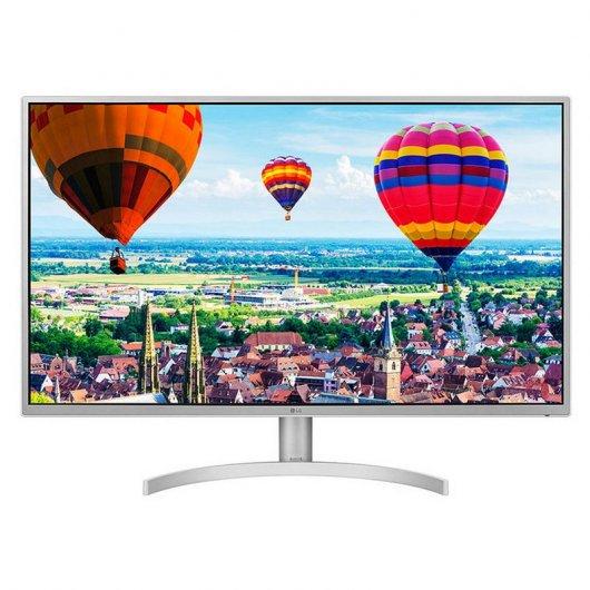 "Monitor LG 32QK500-W 31.5"" LED IPS QuadHD FreeSync"