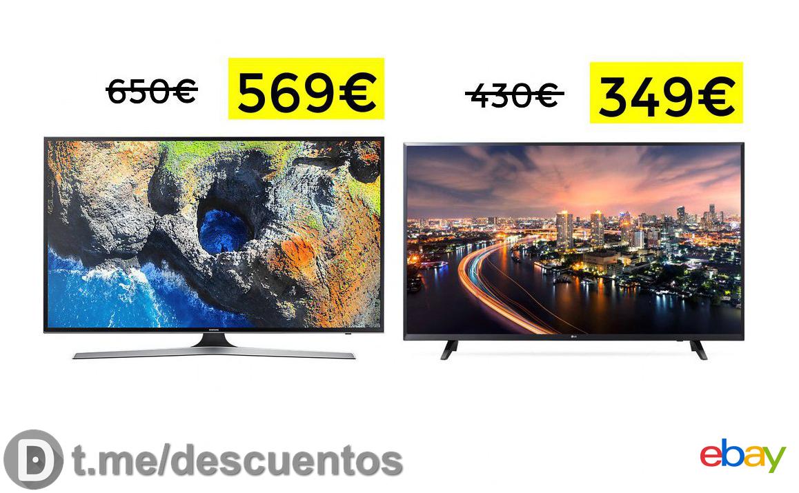 "Samsung 55"" 4k HDR SmartTV solo 569€"