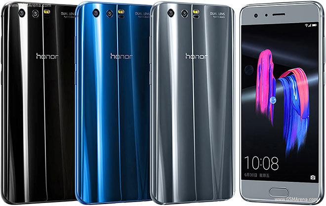 Honor 9 5.20/OctaCore/4GB+64GB/20+12Mpx - Plata, Azul y Negro