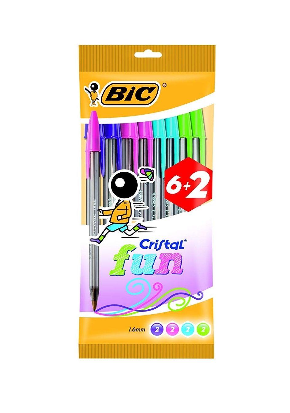Bolígrafos BIC Cristal colores por 1.76€ [PLUS]