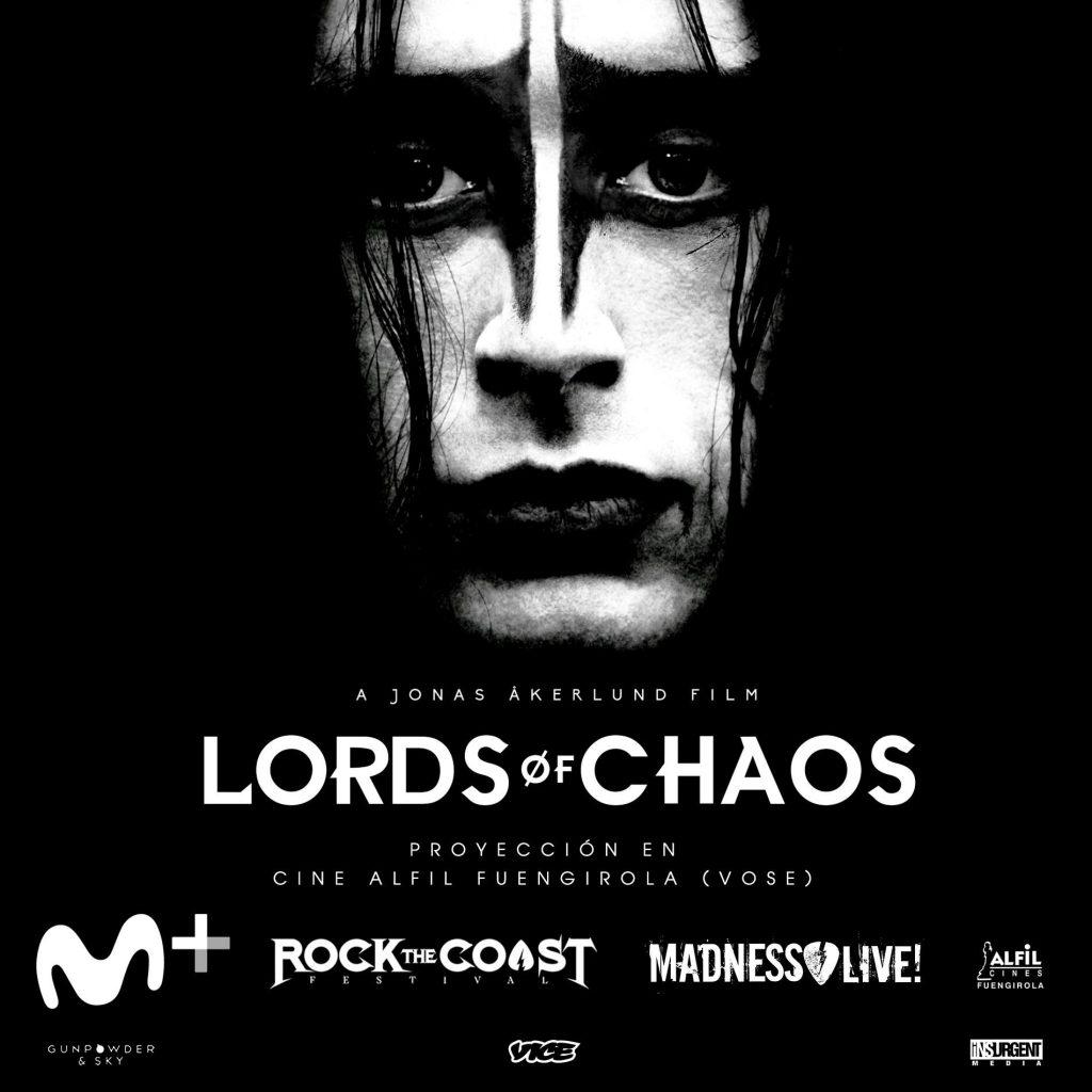 Cine GRATIS estreno Lords of Chaos VOSE Fuengirola Málaga