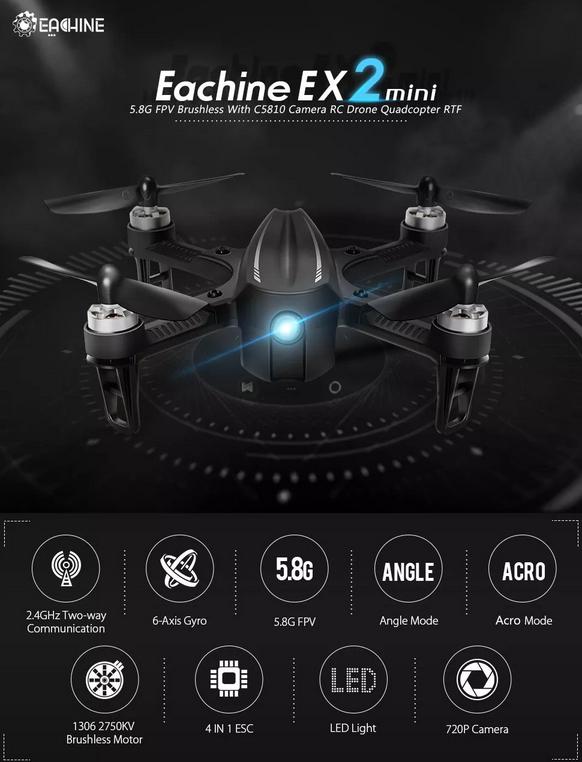drone Eachine EX2mini