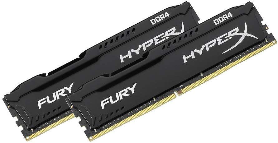 HyperX Fury Black 16Gb(2×8Gb) 2666MHz