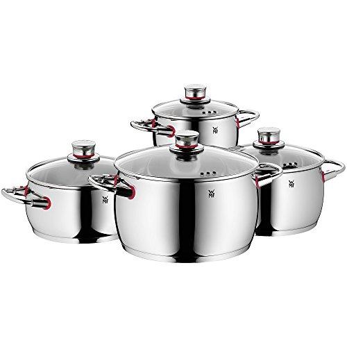 WMF Quality One - Batería de Cocina 4 Piezas