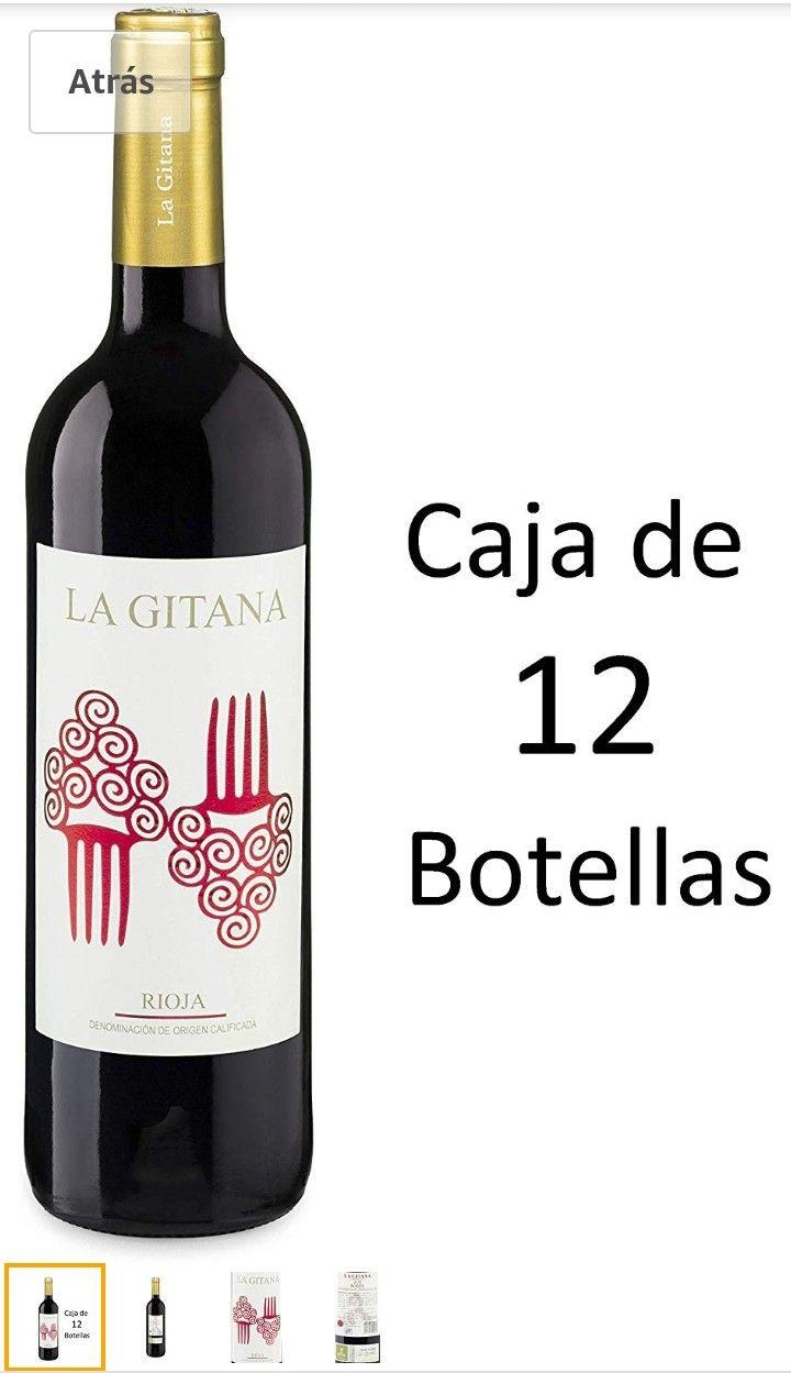 Rioja La Gitana 75 Cl. Caja 12 Und.