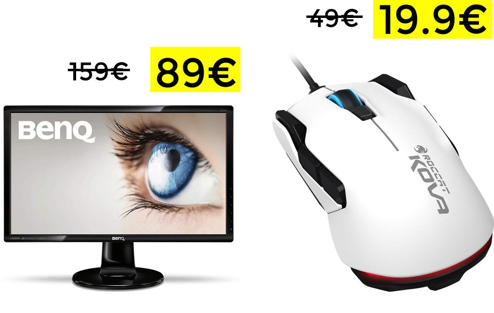 Monitor Benq 27'' FullHd solo 89€