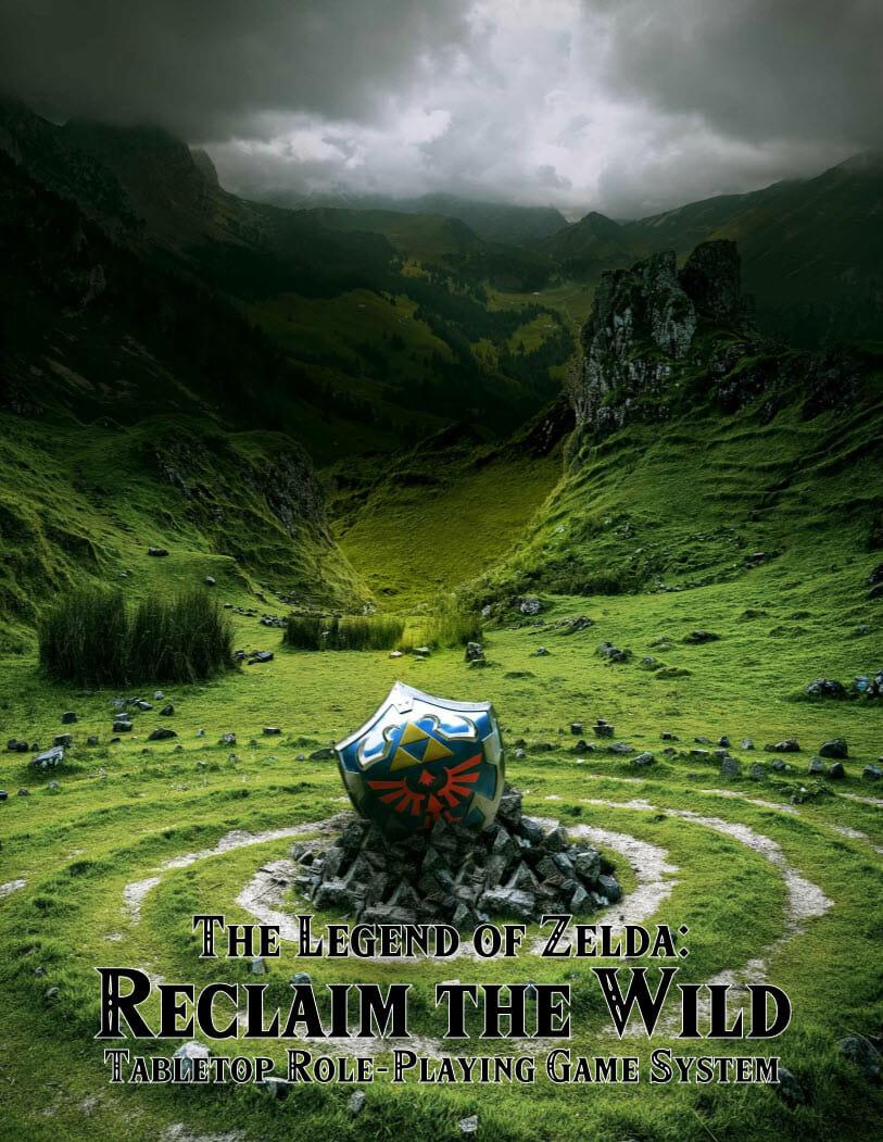 Zelda Reclaim the Wild GRATIS Juego de mesa descargable PDF