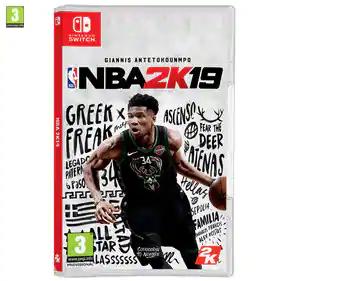 Juego NBA 2K19 para Nintendo Switch Alcampo Castellón