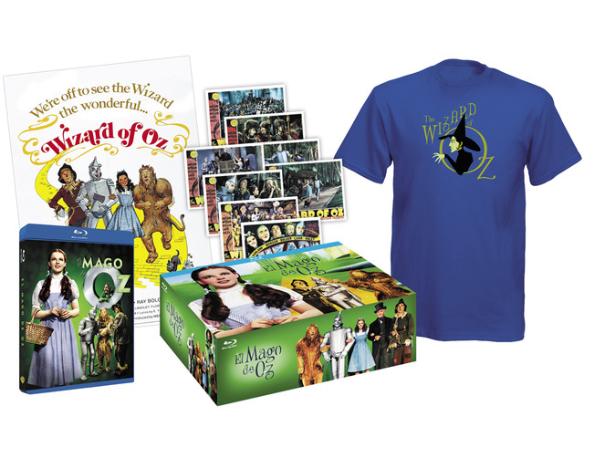 Pack Blu-Ray Mago de Oz solo 1€