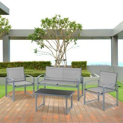 Set de muebles jardin terraza 4pc