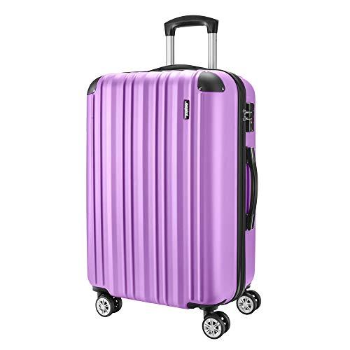 08e45681b OFERTA FLASH Maleta de cabina 55 cms. colores púrpura, verde y azul.