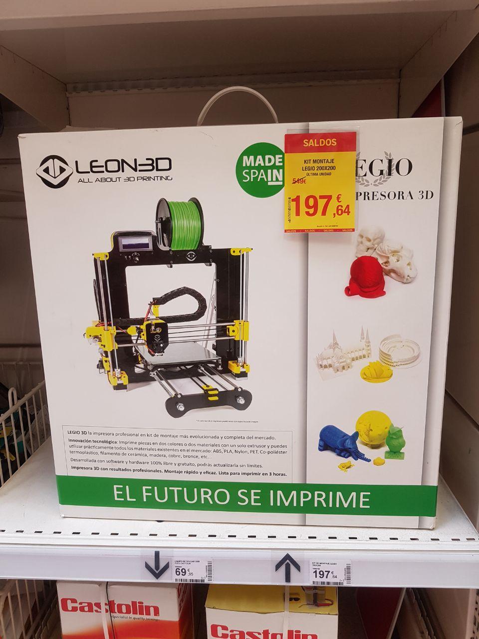 Impresora 3D Leon 3D LEGIO 200x200
