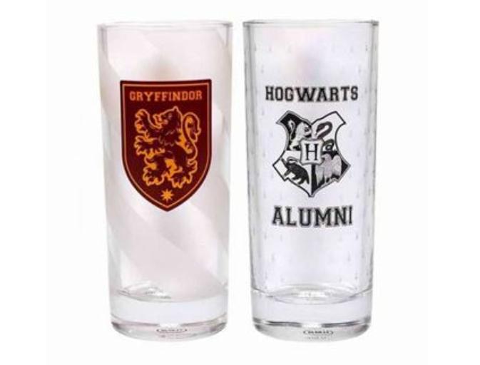 Set de dos vasos Harry Potter - Hogwarts & Gryffindor