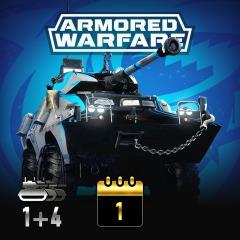 PS4: Armored Warfare – Pack PlayStation®Plus Shark (Gratis)