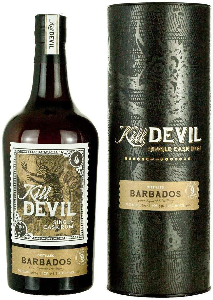 Ron Kill Devil Barbados 9 años - 700 ml.