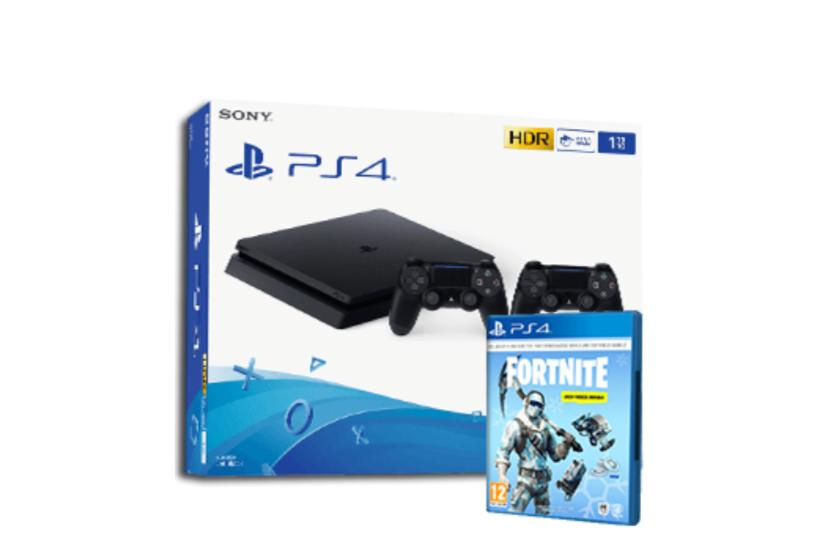 PS4 + 2 mandos + Fornite  solo 299€