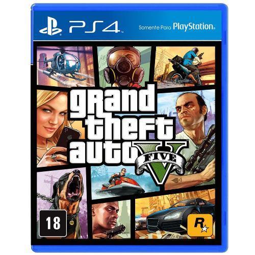 GTA V para PS4!