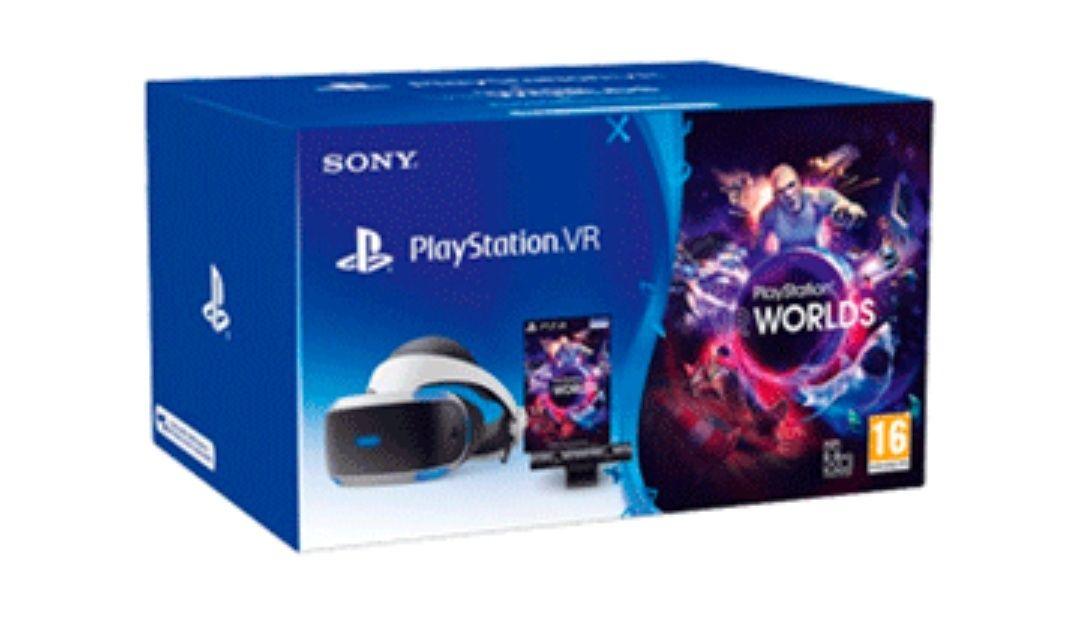 PLAYSTATION VR + CÁMARA 2.0 + VOUCHER VR WORLDS MK