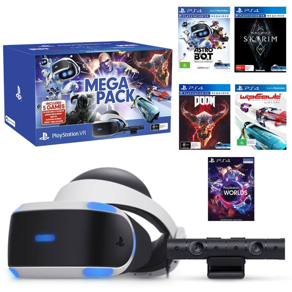 PlayStation VR + 5 juegos solo 219€