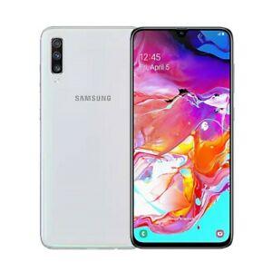 NUEVO Samsung Galaxy A70 A705FD 128GB ROM 6GB RAM Dual SIM - [Blanco] (Garantía)