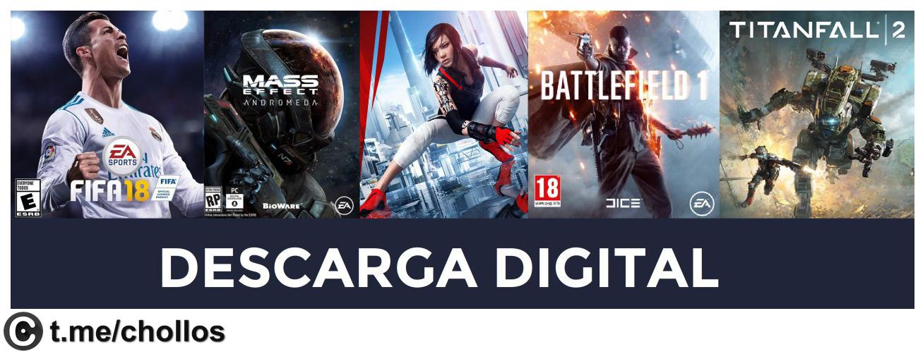 Juegazos EA a precio de liquidación