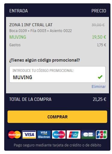 Entradas para el baloncesto Barcelona - Zaragoza 50% descuento . PARA HOY!!