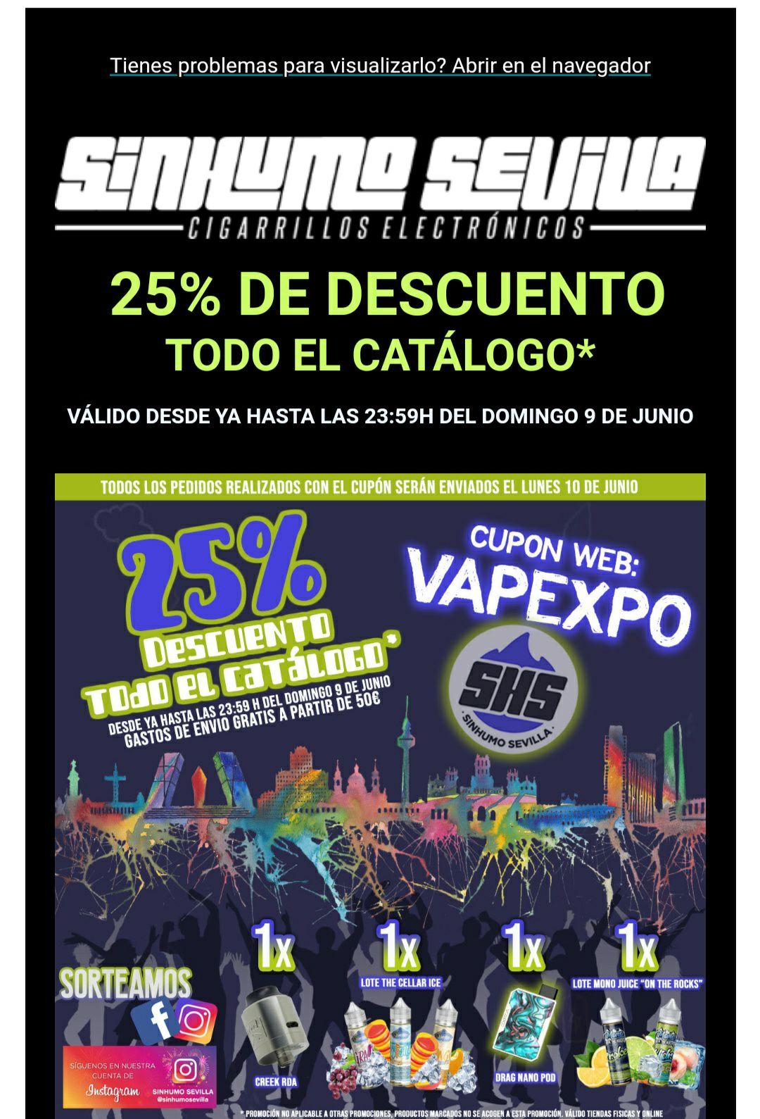 Sin Humo Sevilla 25%