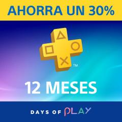 PlayStation®Plus: 30 % de descuento en la suscripción de 12 meses