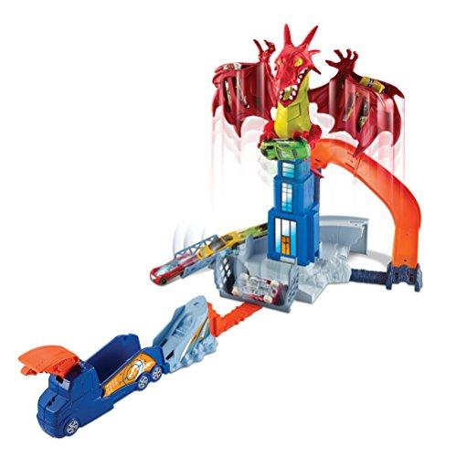 Hot Wheels - Juego creativo Dragon Attack (Mattel DWL04) por solo 19,99€