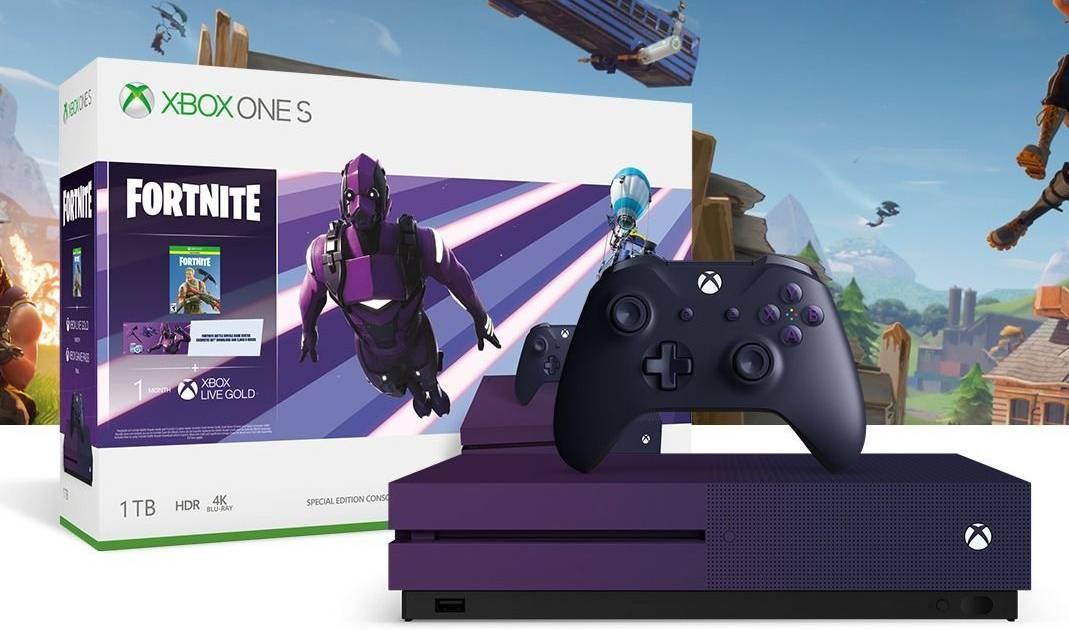 Consola Xbox One S 1TB Edición especial Fortnite Battle Royale