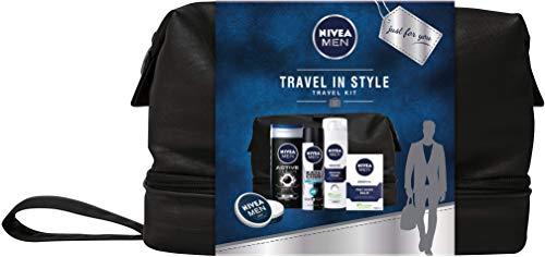 Nivea - Set de regalo para hombres con bolsa de viaje