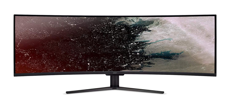 "Monitor  ultramegawide de 49""  144Hz Acer Nitro curvo"