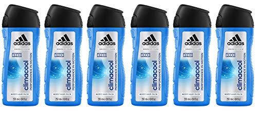 6 unidades Gel de Ducha Adidas Climacool