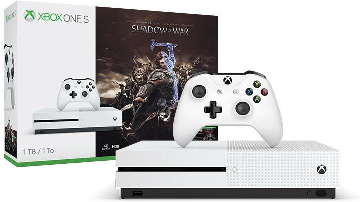 Xbox One S de 1TB + Sombras de guerra