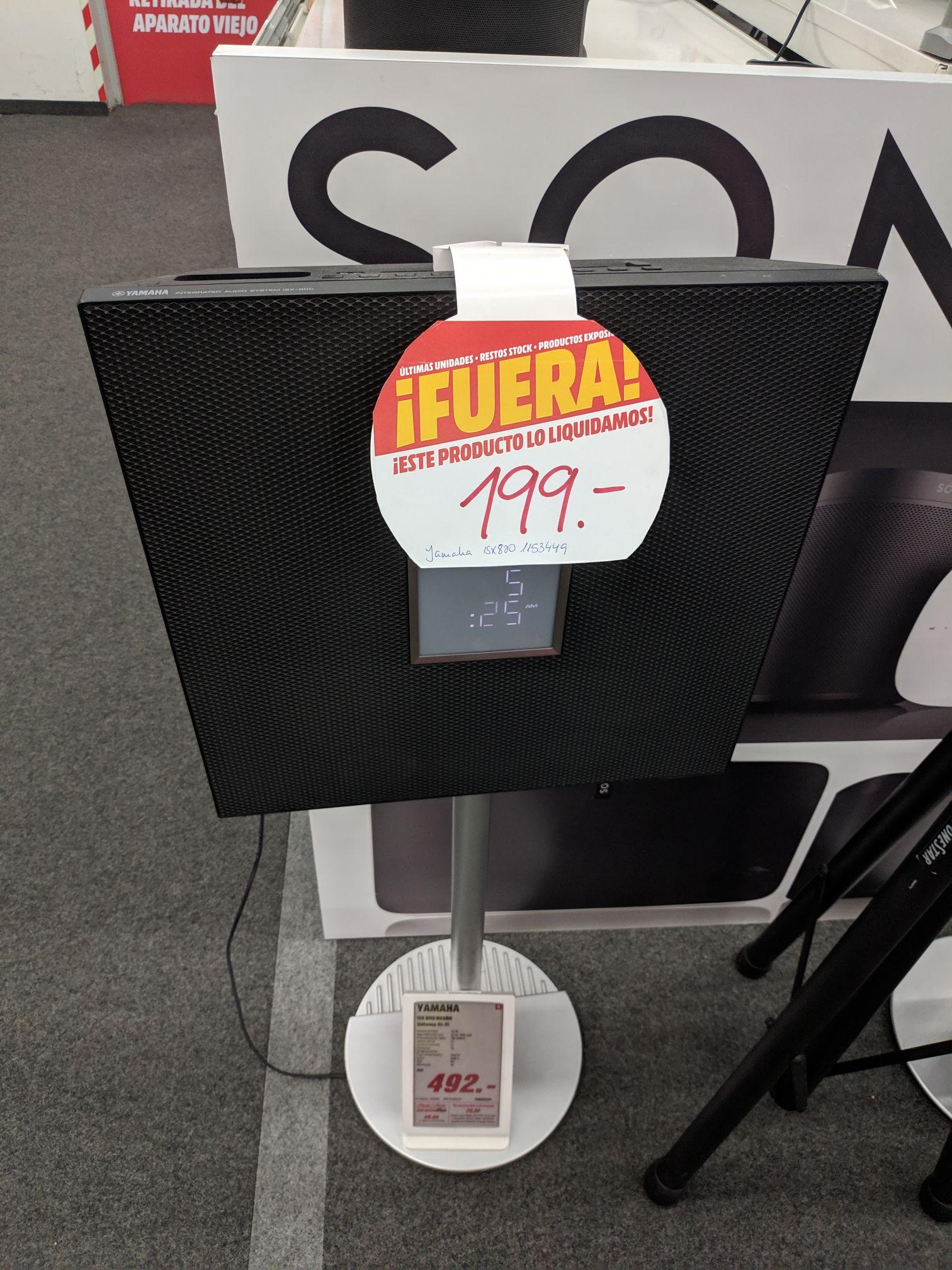 Recopilación de productos exposición Hi-Fi (Mediamarkt Córdoba)